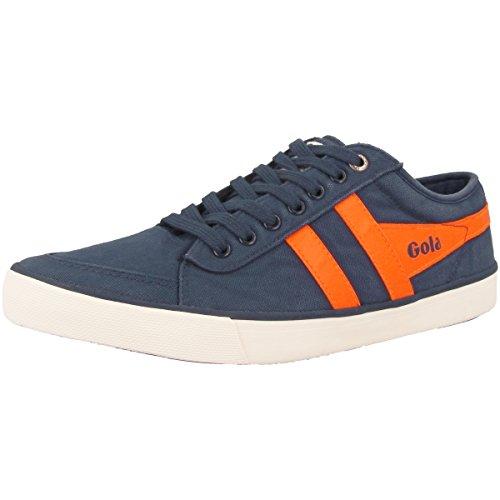 Gola Men's Comet Fashion Sneaker Navy/Neon Orange free shipping countdown package 1RQ7tm