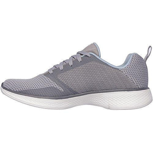 Skechers Go Walk 4 Edge Womens Schuh - SS18 Grey/Light Blue
