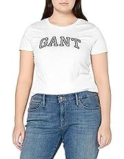 GANT Women's Arch Logo Capsleeve T-shirt T - Shirt