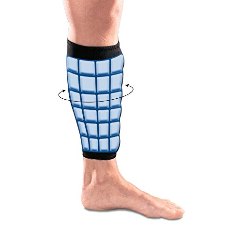 Polar Ice Shin Wrap, Cold Therapy Ice Pack, Large (Color may vary) by Brownmed (Image #1)