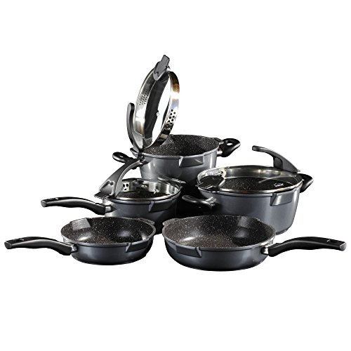 STONELINE® FUTURE 8 pc Cookware Set inductionable 14344