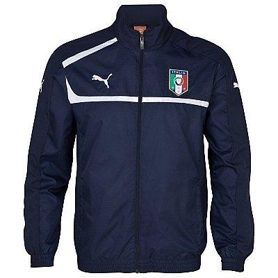 2012-13 Italy Puma Woven Jacket (Navy)