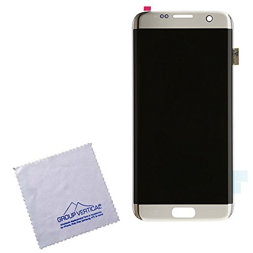 Touch Screen Digitizer and LCD Assembly for Silver Samsung Galaxy S7 Edge by Group Vertical (Image #1)