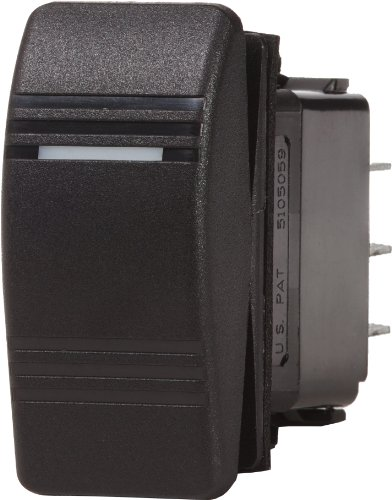 Blue Sea Systems Battery Switch (Blue Sea Systems Contura OFF-ON SPST Switch, Black)