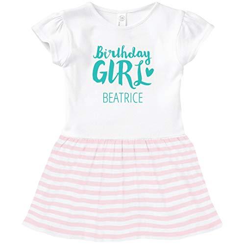 - FUNNYSHIRTS.ORG Cute Birthday Girl Beatrice: Toddler Baby Rib Dress