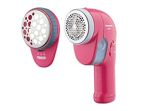 Panasonic ER857P-P Electric Lint Removers Lint Shavers Clothes Shaver Pink by Panasonic