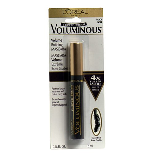 Lor Masc Vol Crv Blk Size .28z (Maybelline Mascara Voluminous)