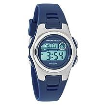 Sportech Women's | Classic Blue Digital Water Resistant Sport Watch | SP10221