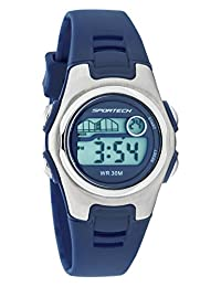 Sportech Women's | Classic Blue Digital Water Resistant Sport Watch | SP10221