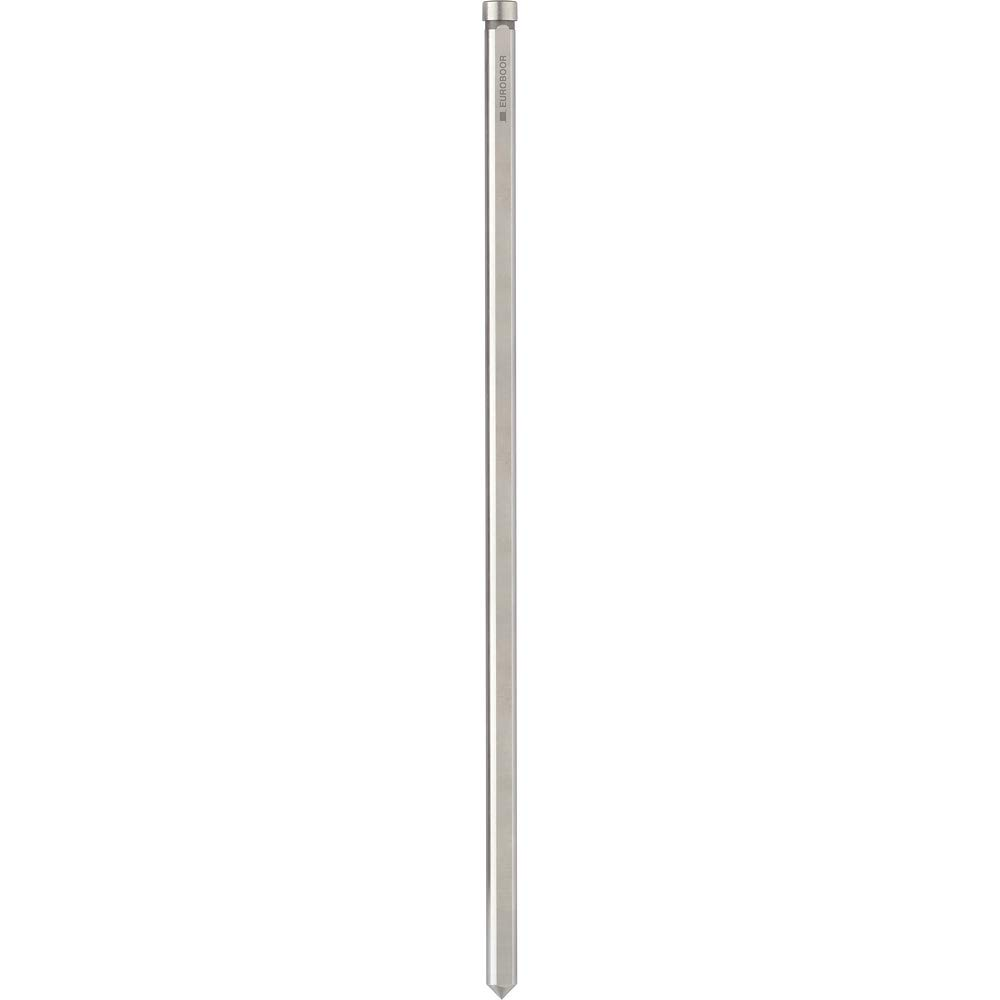 Euroboor Pilot Pin for 8'' depth of cut annular cutter. For full range from 7/8''-2'' diameters. 9-15/16'' overall length.