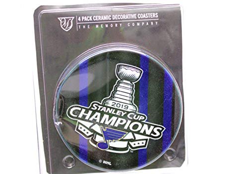 - The Memory Company St. Louis Blues 2019 Stanley Cup Champions 4-Pack Ceramic Coasters