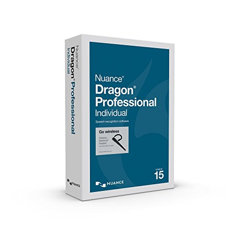 Dragon Professional Individual 15 with Bluetooth