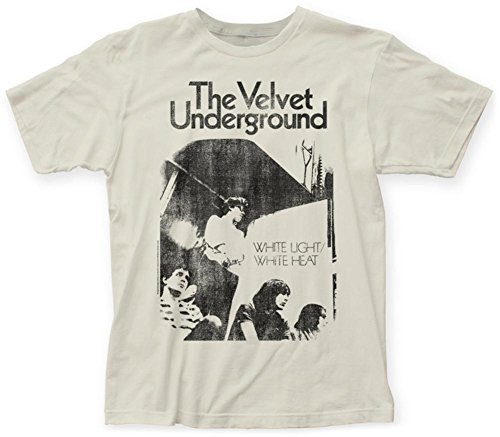 Velvet Underground- White Light/White Heat T-Shirt Size M - Big Velvet Shirt