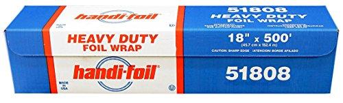 """Handi-Foil 51808 18"""" x 500' Heavy Duty Roll Foil"""