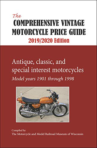 Comprehensive Vintage Motorcycle Price Guide 2019-2020