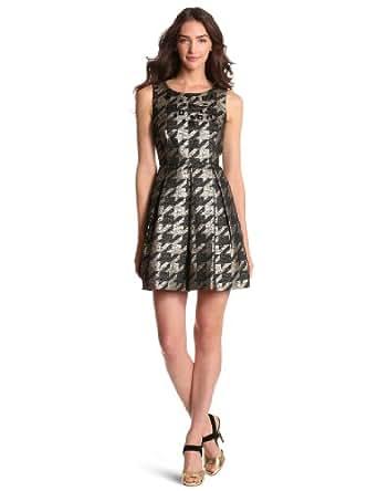 Miss Sixty Women's Adrienne Dress, Houndstooth, 14