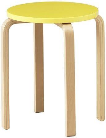 Ikea Frosta Tabouret Jaune Amazon Fr Cuisine Maison
