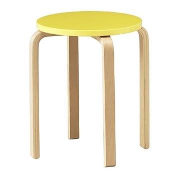 Ikea Frosta Hocker In Gelb Amazonde Küche Haushalt