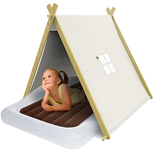 The Shrunks - Izzy Foldable Teepee Play Tent with Carrying Bag - Toddler