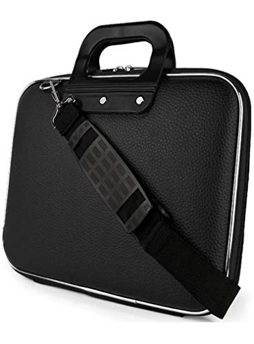 Urban Trek Laptop Messenger Bag, Upto 15.6 inches, Tablet and Executive Office Bag, (Black)