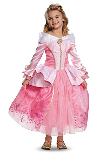 Aurora Prestige Disney Princess Sleeping Beauty Costume, One Color, X-Small/3T-4T (Maleficent Toddler Costumes)