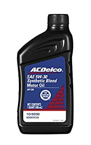 Acdelco 10 9200 professional 5w 30 synthetic for Dexos synthetic motor oil