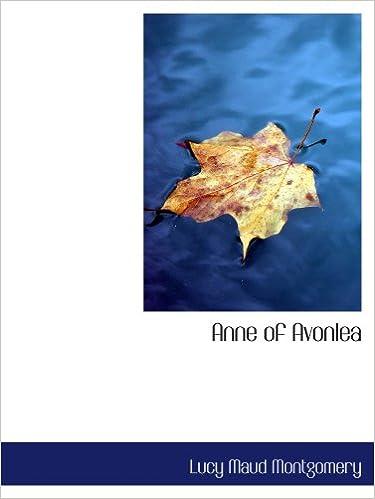 Book Anne of Avonlea