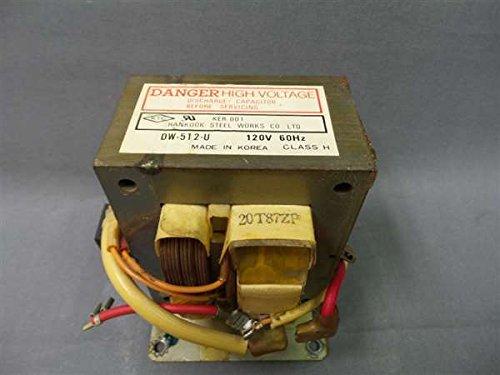 recertificación Daewoo ker-001 microondas transformador ...