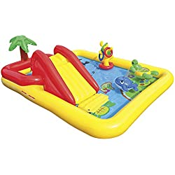 "Intex Ocean Inflatable Play Center, 100"" X 77"" X 31"", for Ages 2+"