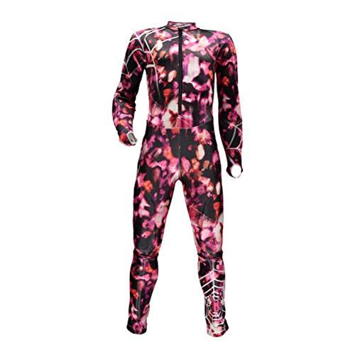 Spyder Performance GS Girls Race Suit - 14-16/Hibiscus-Taffy Pink (Girls Race)