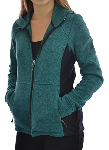 ZeroXposur Womens Heather Sweater Jacket