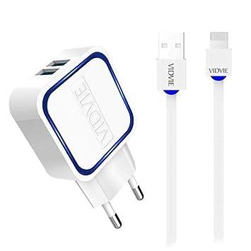 One Plus 801083 - Cargador Dual USB con 2 Puertos (2100 mAh ...