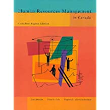 Human Resources Management in Canada (8th Edition)
