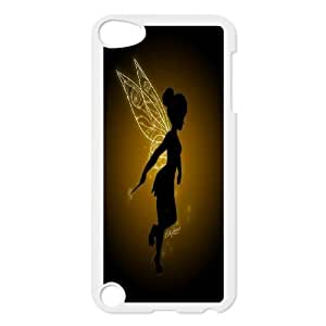 Cartoon cute Tinkerbell,tinker bell series protective case cover FOR Ipod Touch 5 r-763y-SO93904