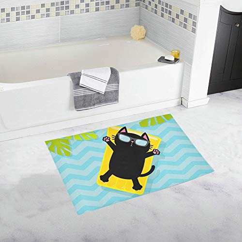 Logical Non Slip Bath Mat With Suction Cups Drain Hole Bathroom Kitchen Door Floor Tub Shower Safety Mats Anti-bacteria Home & Garden Bathroom Products