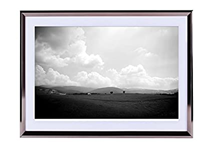 Amazon.com: nature scenery-Landscape - Art Print Silvery Wood Framed ...