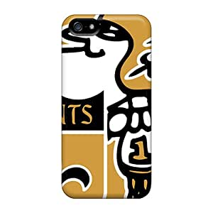 Bumper Hard Cell-phone Case For Apple Iphone 5/5s (fVi33043WbCM) Custom Stylish New Orleans Saints Pictures