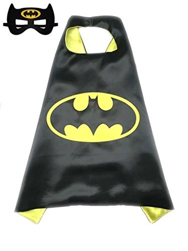Mijoyee Superhero Dress Up Costumes and Mask set (batman) (Characters To Be For Halloween)