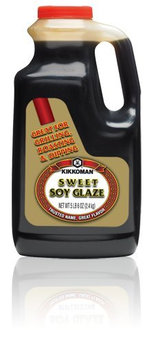 (Kikkoman Sweet Soy Glaze For Grilling Roasting Dipping and Finishing, 5 Pound 6 Ounce)