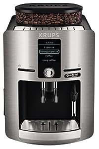 Krups Espresseria QF EA82FB10 - Cafetera super-automática, color plateado