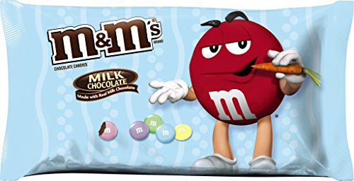 M&Ms Easter Basket Gifts - Milk Chocolate Candies