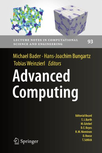 Advanced Computing: 93 (Lecture Notes in Computational Science and Engineering) Pdf