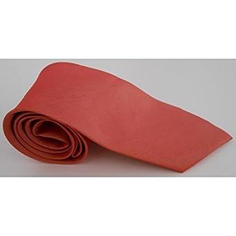 91759d5e445de Cravate slim en soie unie Thai Rose saumon: Amazon.fr: Vêtements et ...