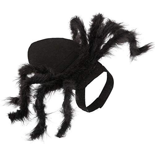 Spider Costume For Dogs - SuperUS Halloween Pet Costume Spider Wing