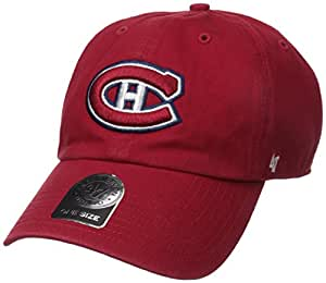 47 Brand H-RGW10GWS-RD NHL Montreal Canadian Clean up Adjustable Cap (Red, One-Size)