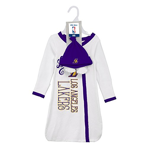 separation shoes 5af8b a7f88 Los Angeles Lakers Baby Dress, Lakers Baby Dress, Laker Baby ...