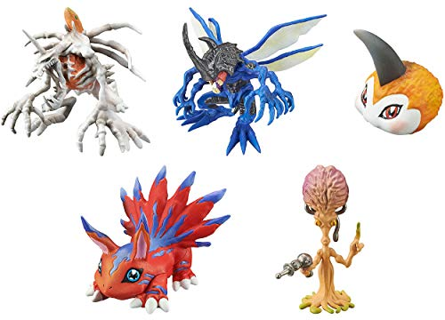 Gashapon Digimon Capsule Mascot Collection Version 5.0 Set ()