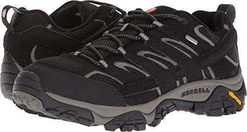Merrell Men's Moab 2 GTX Hiking Shoe Black 8 D US
