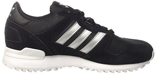 adidas ZX 700, Zapatillas de Deporte Unisex Adulto Varios colores (Core Black / Matte Silver / Utility Black)