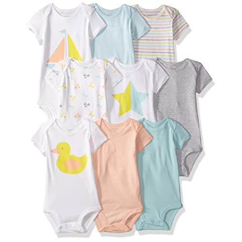 Carter's Baby 9-Pack Grow with Me Bodysuit...